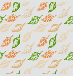 seamless botanic pattern vector image vector image