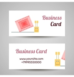 InsectBusinessCards vector image