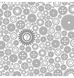 Background of gears3 vector