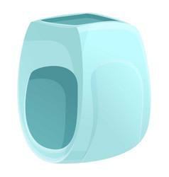 Change nappy icon cartoon style vector