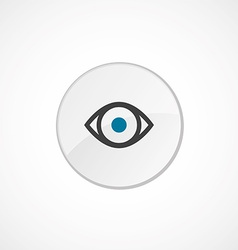 eye icon 2 colored vector image