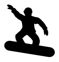 Snow board vector