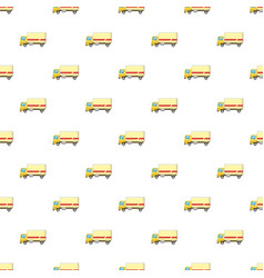 truck pattern vector image