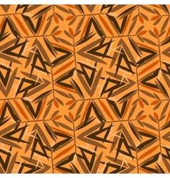 Yellow art deco pattern vector