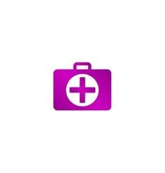 ambulanse icon Flat design style vector image