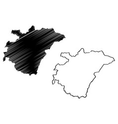 Ashanti region administrative divisions ghana vector