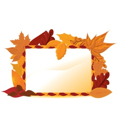 Autumn Frames vector image