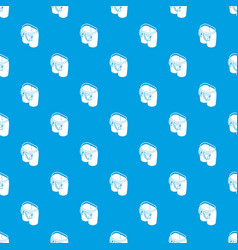fashion pocket on back pattern seamless vector image