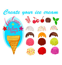 ice cream generator vector image