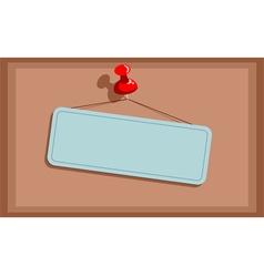 Placard vector