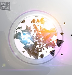 Shining Abstract Background vector