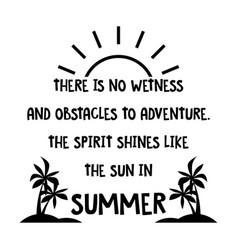 Summer spirit vector