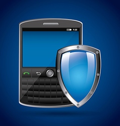 cellphone security vector image