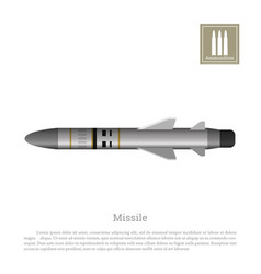 rocket drawing on a white background vector image