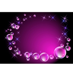 Magical background vector image