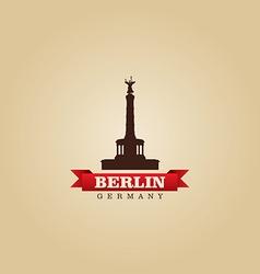 Berlin Germany city symbol vector