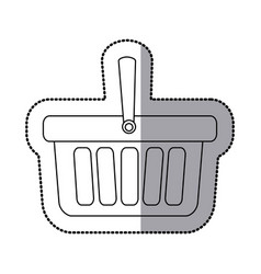 contour baskets icon image vector image