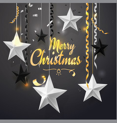 merry christmas and 2018 new year background for vector image