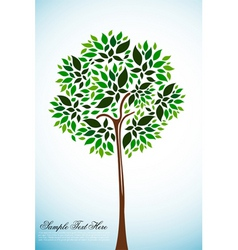 natural tree vector image