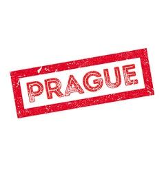 Prague rubber stamp vector image