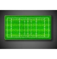 Rugby stadium vector image