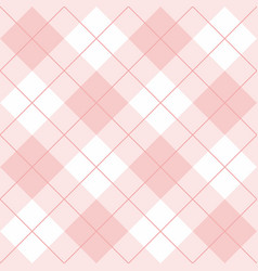 seamless pink and white background - pattern vector image