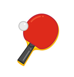 tabble-tennis vector image