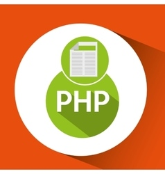 Web development document php vector