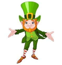 Lucky Leprechaun vector image vector image