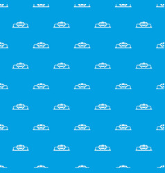 oil production pattern seamless blue vector image vector image