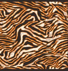 Abstract tiger skin wallpaper vector