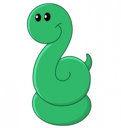 baby snake vector image