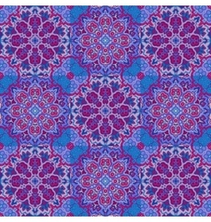 Bright pattern East ornament with contour vector