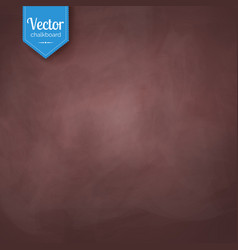 Brown vintage chalkboard texture vector