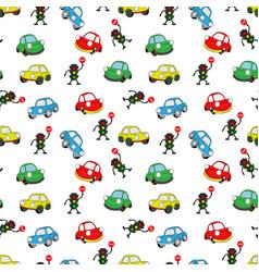 car2pattern vector image