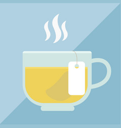 cup of tea icon vector image