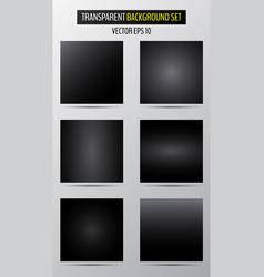 dark half transparent checkered backgrounds vector image
