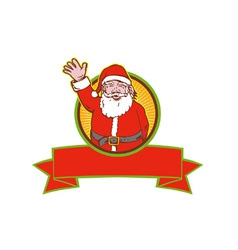 Father Christmas Santa Claus vector image