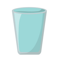 glass icon image vector image
