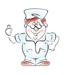 Happy Doctor vector