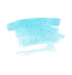 Light blue turquoise watercolour vector