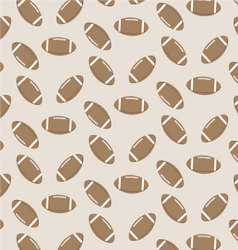 Seamless pattern american football vector