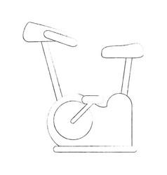Spinning gym machine vector