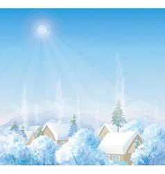 winter vector image vector image