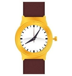 Wrist watch time traditional icon graphic vector