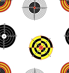 seamless targets vector image vector image