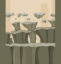 Background with stone structures in the form of vector