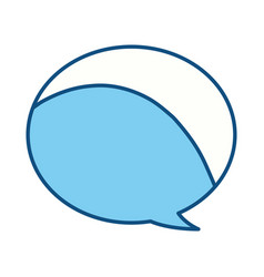 Comic bubble symbol vector