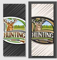 Layouts for hunting vector