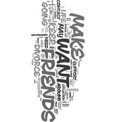 Your friends can help text word cloud concept vector